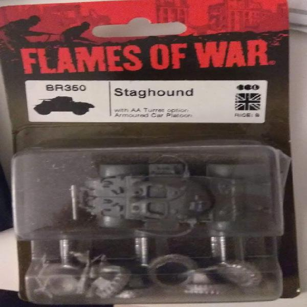 Flames of war - staghound
