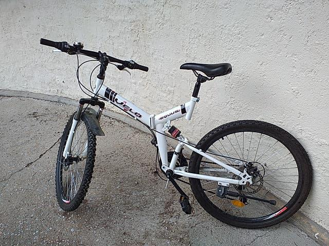 "Mountain bike 26"" plegable"