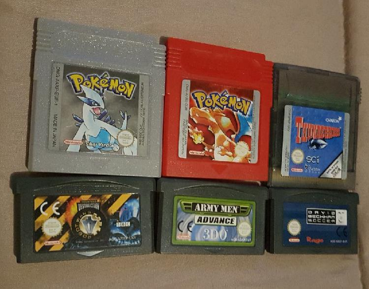 Pack 6 juegos gameboy,color,advance