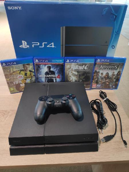 Play station ps4 500gb impecable