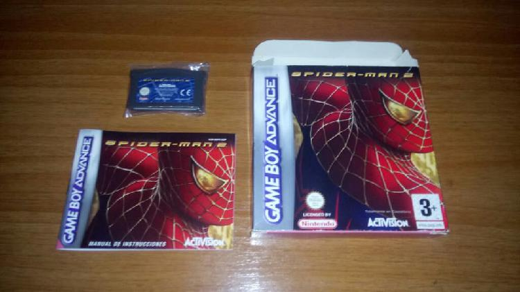 Lote juegos spiderman game boy
