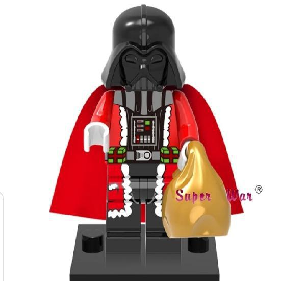 Minifigura compatible con lego star wars darth vader navidad