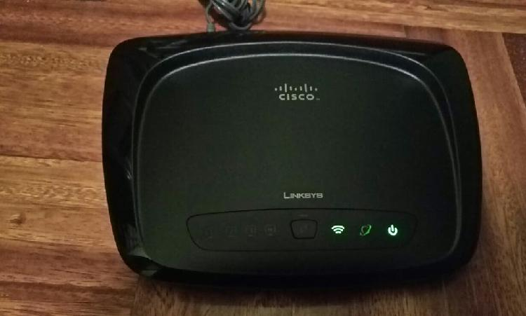 Router linksys wrt54g2