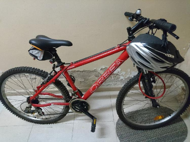 Mountain bike orbea y complementos