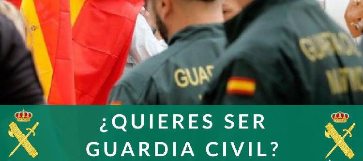 Preparación guardia civil