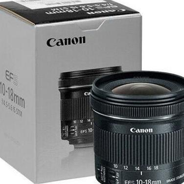 Canon ef 10-18mm. f.4.5-5.6 is stm