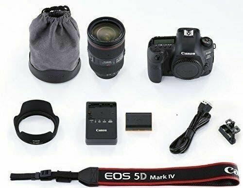 Canon eos 5d mark iv plus ef 24-105 mm f / 4l is