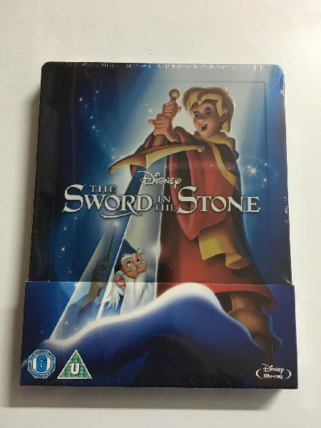 Merlin el encantador steelbook bluray zavvi uk