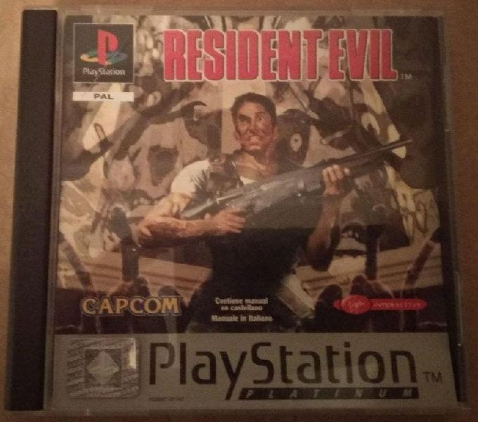 Resident evil 1,2,3 y 4 ps1 ps2 ps3 psx pal