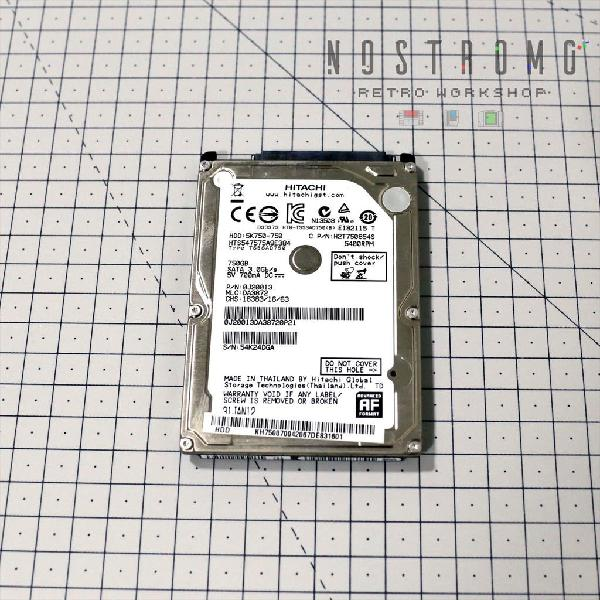 Disco duro hitachi 750gb sata