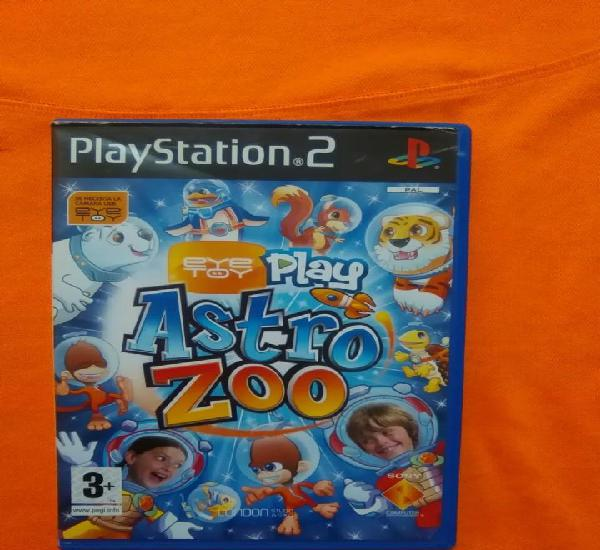 Eyetoy - play astro zoo - sony playstation 2 - ps2 - pal -