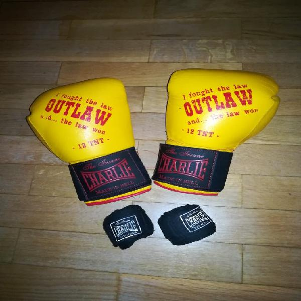 Guantes boxeo charlie outlaw