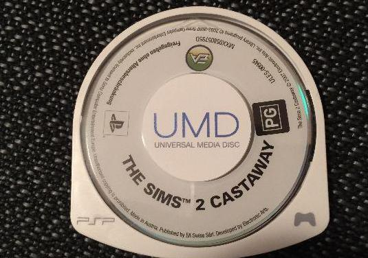 Videojuego psp the sims