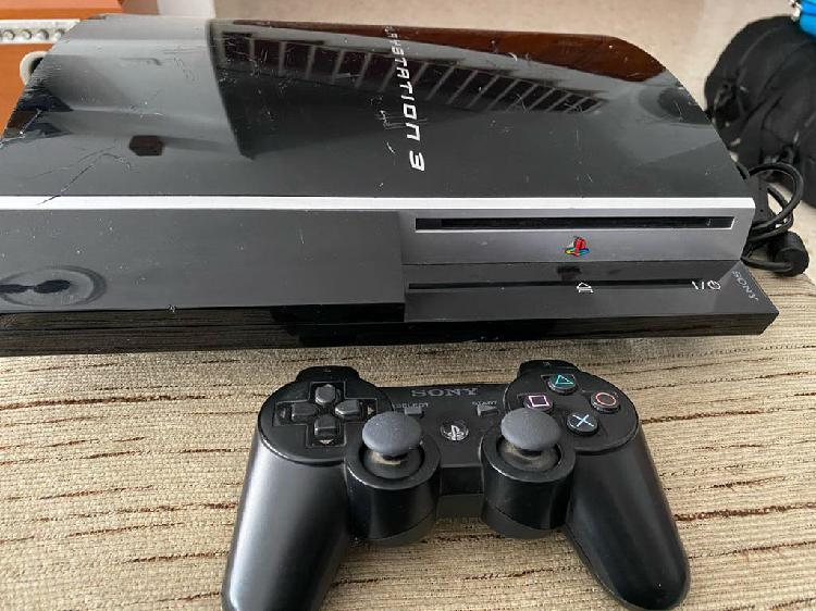 Ps3 play station 3 fat 80gb con mando y juegos