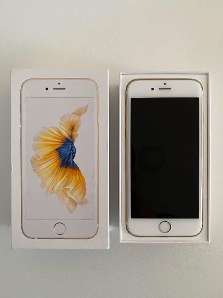 Iphone 6s 64gb gold perfectamente funcional
