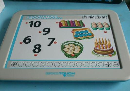 Tablet educa touch contar