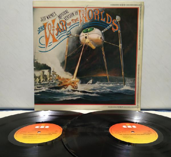 The war of the worlds, musical version 2xlp 1978 ed
