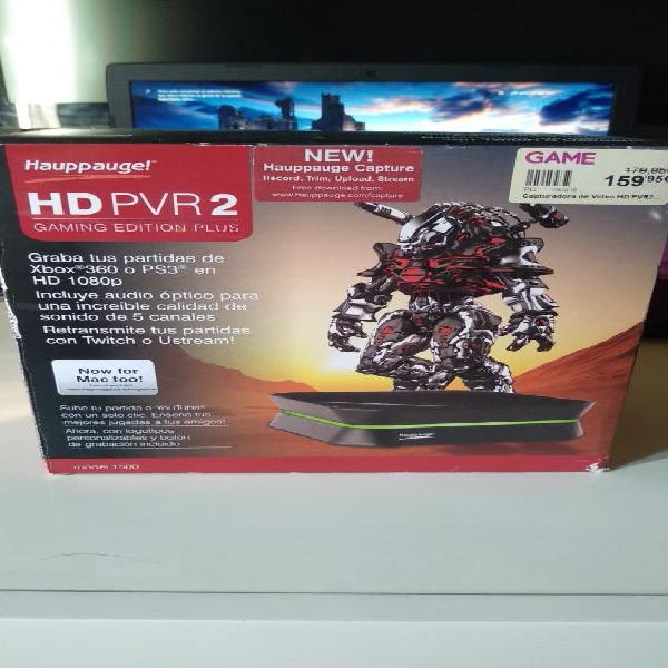 Capturadora hauppauge hd pvr2