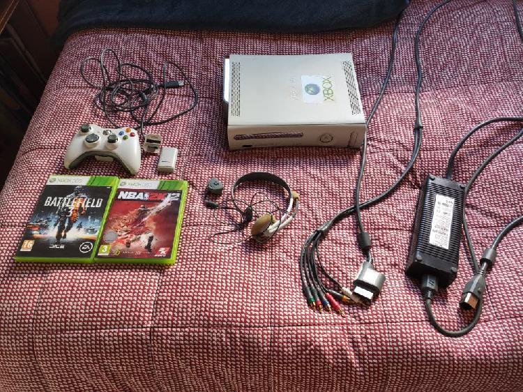 Consola xbox 360 pack completo