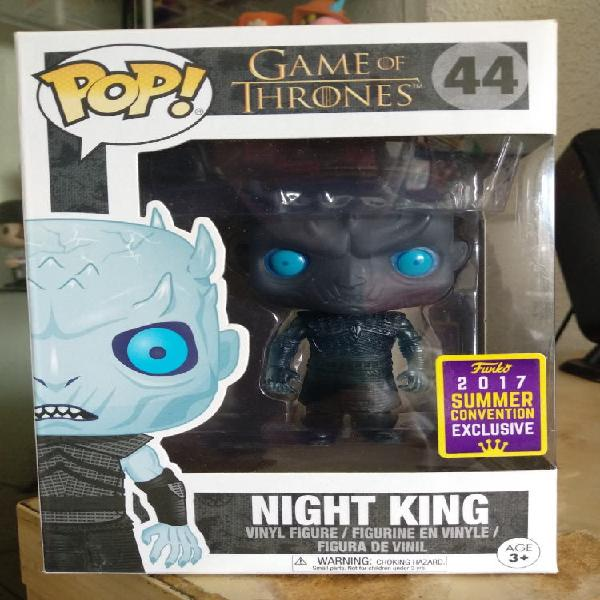 Night king funko pop game of thrones sdcc 2017