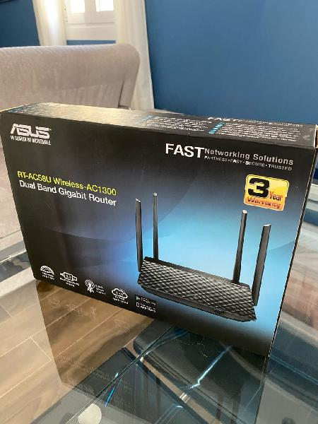 Router alta velocidad asus 802.11 ac dual band