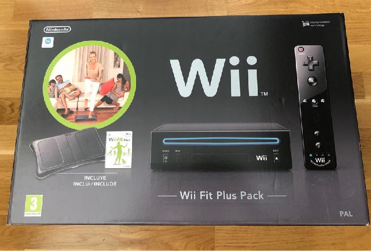 Wii fit plus pack | wii + wii fit plus + 2mandos