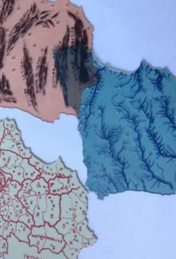 Colegio. mapas de españa de los 70-80