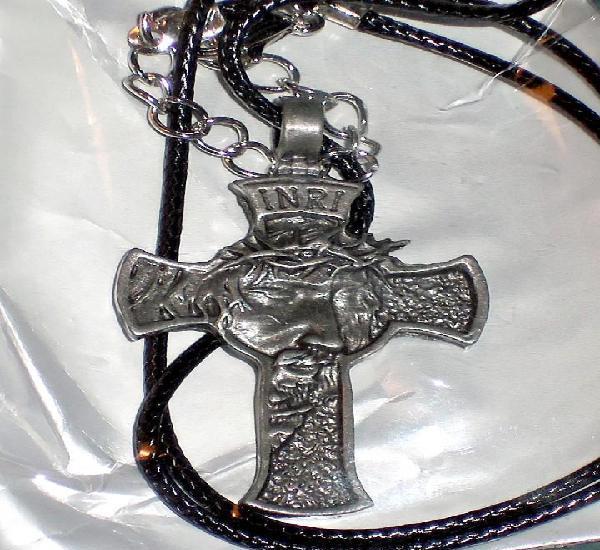 Colgante cristo / jesucristo / cruz - ¡nuevo!