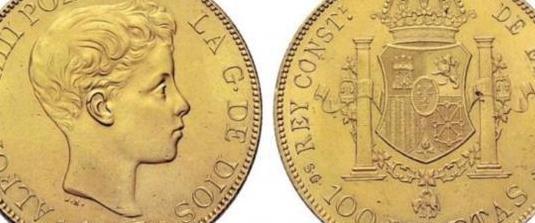 Compro monedas de oro españolas