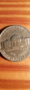 Estados unidos cinco centavos monedas 1970-vintage