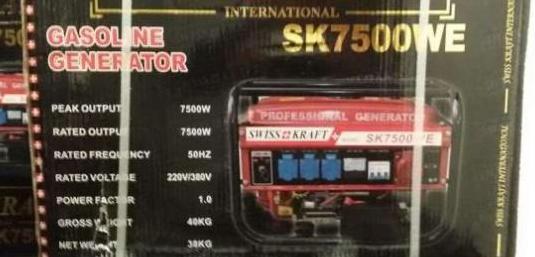 Generador de luz 7.500 wattios