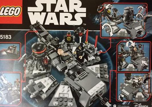Lego transformación darth vader