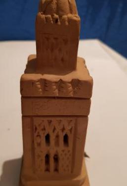 Mezquita minarete ceramica