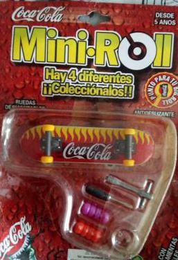 Mini-roll coca cola