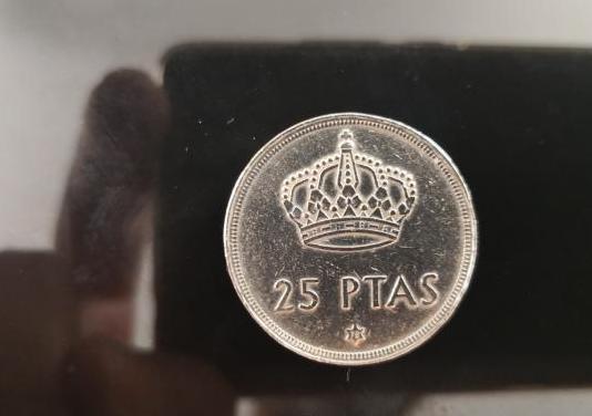 Moneda 25 pesetas rey juan carlos
