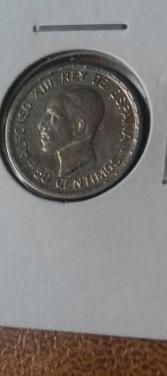 Moneda 50 céntimos alfonso xii