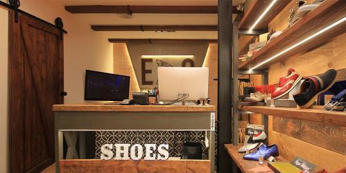 Se traspasa espectacular tienda calzado