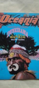 Antiguo album de cromos oceania dunkirama