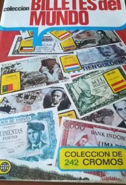 Colección billetes del mundo