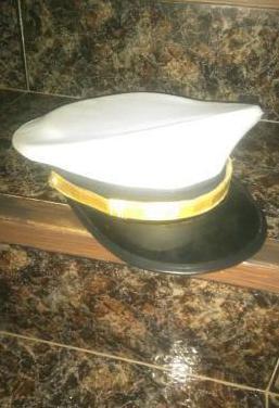 Gorra plato oficial/suboficial armada