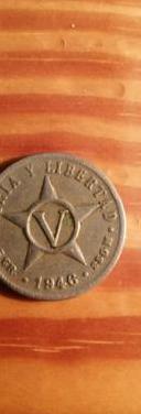 Republica de cuba. 5 centavos