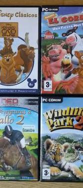 4 juegos pc para niños
