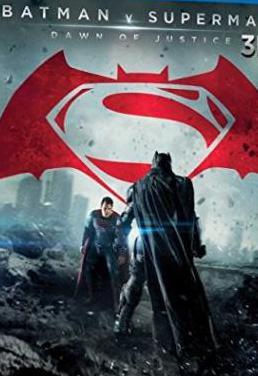 Batman vs superman 3d (3 blurays)
