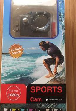 Cámara go pro hd sport waterproof nueva