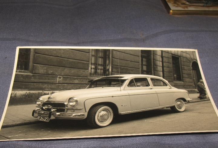 Coches automovil antiguedades - fotografia original coche