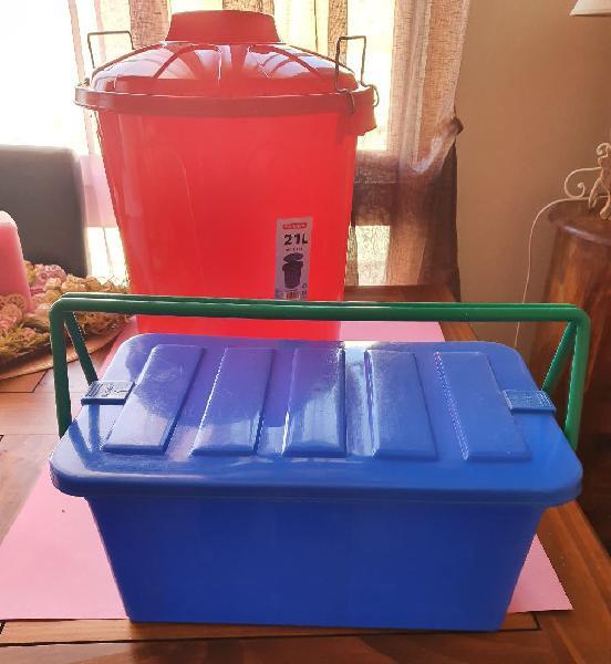 Cubo plástico 21 l
