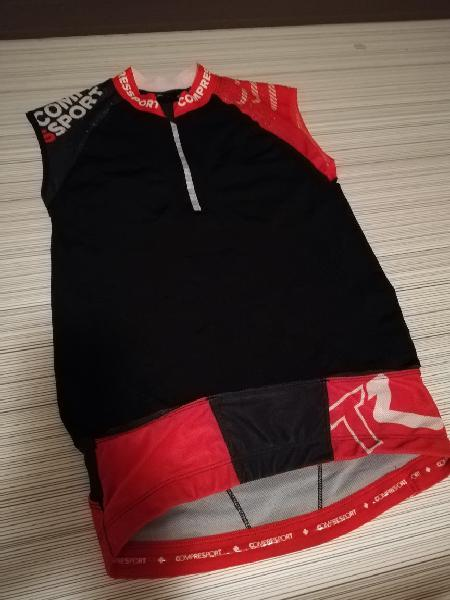 Camiseta técnica trail running