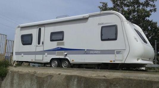 Caravana hobby prestige 2009