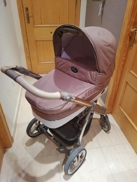 Carro de bebé bebecar 3 piezas