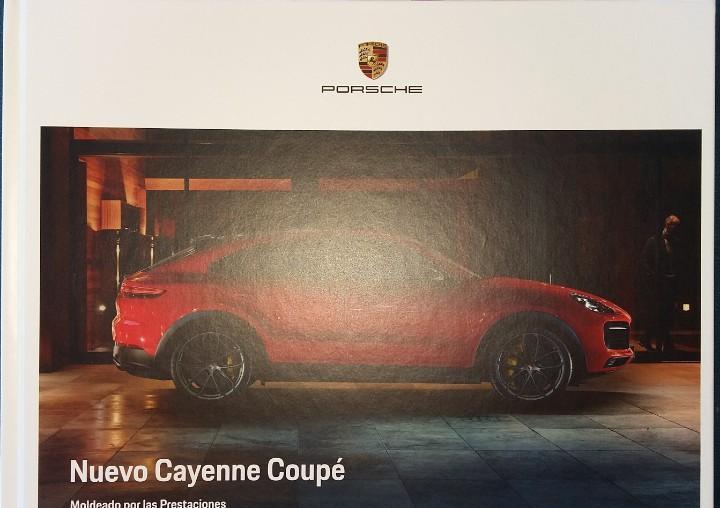 Catálogo porsche cayenne coupé. mayo 2019. en español